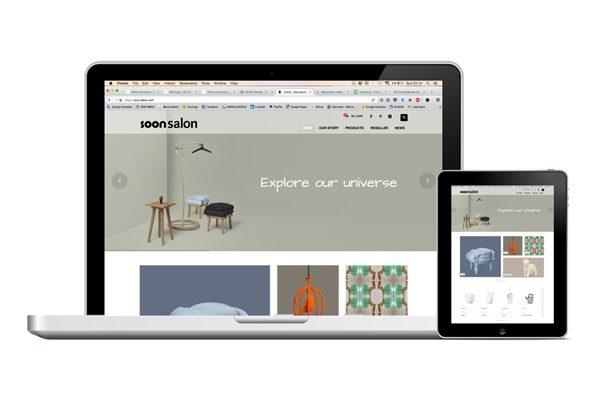 Soonsalon Woocommerce webshop design by VN Vision